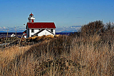Photograph - Point Wilson Lighthouse by Lynn Bawden