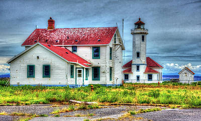 Photograph - Point Wilson Lighthouse by Richard J Cassato