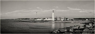 Photograph - Pointe Au Pere Lighthouse At Gaspesie St Lawrence River Quebec  by Peter V Quenter