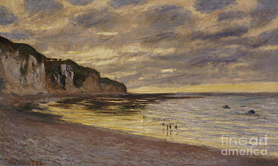 Pointe De Lailly Art Print by Claude Monet