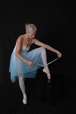Photograph - Pointe Preparation by Nancy Taylor