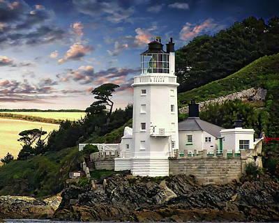 Photograph - Pointe Saint Anthony Lighthouse by Anthony Dezenzio