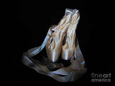 Photograph - Pointe Shoes And Dog Tags1 by Laurianna Taylor