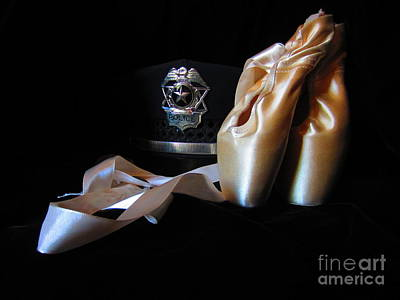 Photograph - Pointe Shoes And Police by Laurianna Taylor