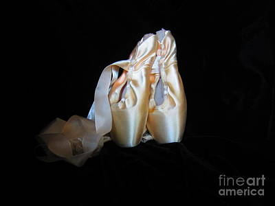 Pointe Shoes3 Art Print
