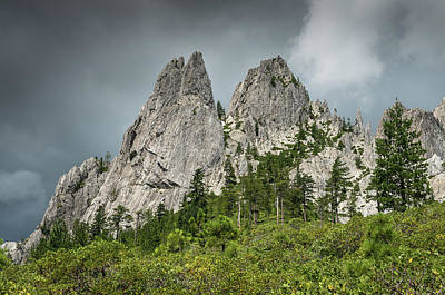 Photograph - Pointed Crags by Greg Nyquist