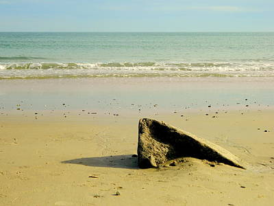 Pointed Rock At Squibby Art Print