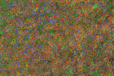 Painting - Pointillism Abstract by Dan Sproul