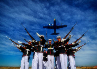 Usmc Photograph - Pointing The Way by Mountain Dreams