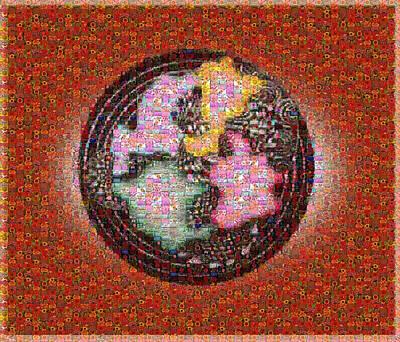 Pointless Flowers 2 Art Print by Gabe Art Inc