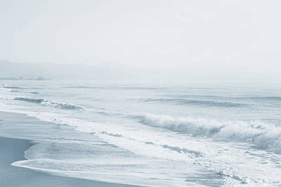 Photograph - Pointless Nostalgia. Series Ethereal Blue  by Jenny Rainbow