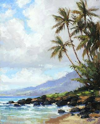 Painting - Poipu Palms by Jenifer Prince