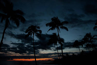Photograph - Poipu Sunset by Roger Mullenhour