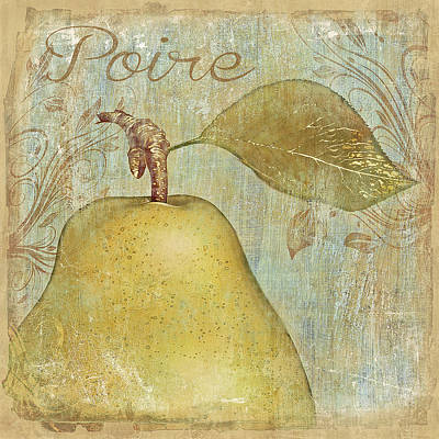 Digital Art - Poire by Nina Bradica