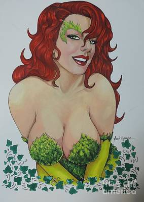 Painting - Poison Ivy by Leida Nogueira