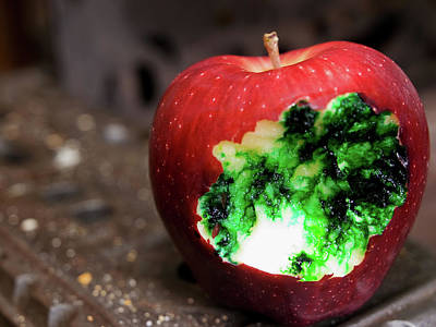 Photograph - Poisoned Apple by Jim DeLillo
