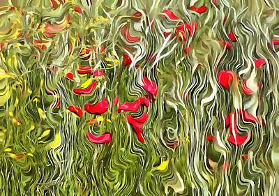 Painting - Poisoned Poppies by Tracey Harrington-Simpson