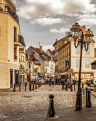 Photograph - Poissy, France - Rue Du General De Gaulle by Mark Forte