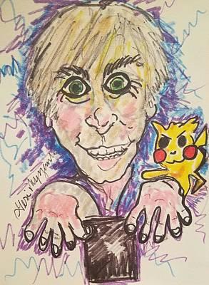 Animation Drawing - Pokemon Go Fever by Geraldine Myszenski