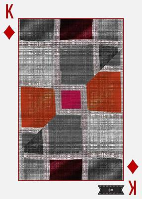 Photograph - Poker Card Art Design  by Sheila Mcdonald