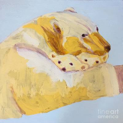 Portfolio Painting - Polar Bear by Donald J Ryker III