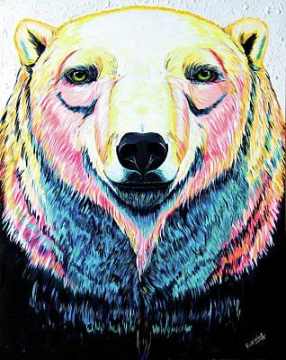 Affinity Painting - Polar Bear by Ekaterina Antonova