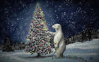 Digital Art - Polar Christmas by Jonathan Carr