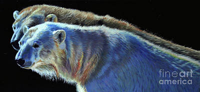 Painting - Polar Echo by Kelly McNeil