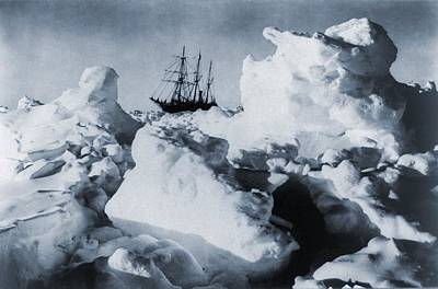 Polar Explorer, Ernest Shackletons Art Print by Everett