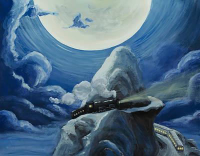 Painting - Polar Express by Brian Nunes