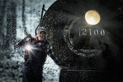 By Jackie Photograph - Polar Express by Jackie Sajewski
