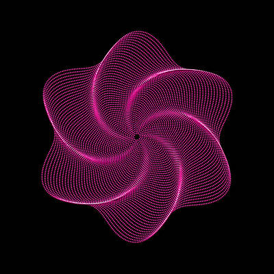 Digital Art - Polar Flower Vir by Robert Krawczyk