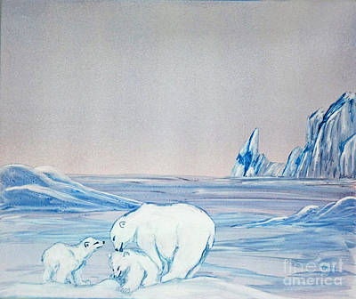 Painting - Polar Ice by Terri Mills
