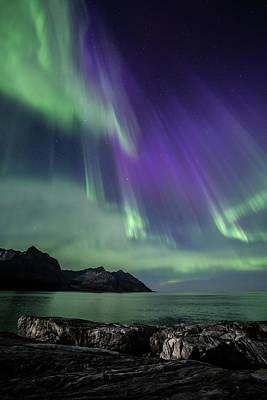Photograph - Polar Light I by Sebastian Worm
