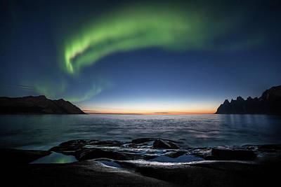 Photograph - Polar Light III by Sebastian Worm