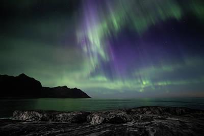 Photograph - Polar Light by Sebastian Worm