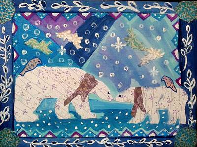Painting - Polar Love by Nikki Dalton