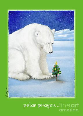Painting - Polar Prayer... by Will Bullas