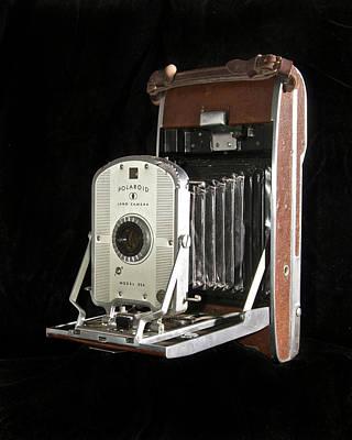 Polaroid Camera Photograph - Polaroid 95a Land Camera by Michael Peychich
