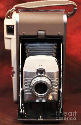 Polaroid Bellows Camera Art Print