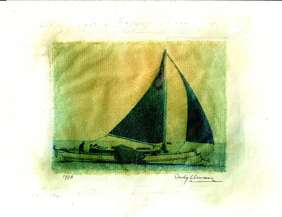 Photograph - Polaroid Boat by Rudy Umans