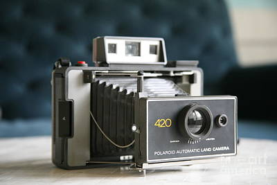 Photograph - Polaroid Land Camera by Lynn England