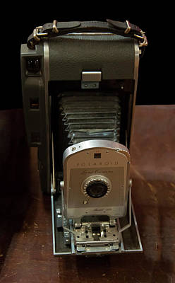 Photograph - Polaroid Land Camera Model 160 by Chris Flees