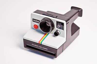 Photograph - Polaroid Land Camera by Vanessa Garcia