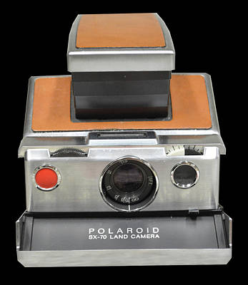 Photograph - Polaroid Sx-70 Land Camera by Brian Duram