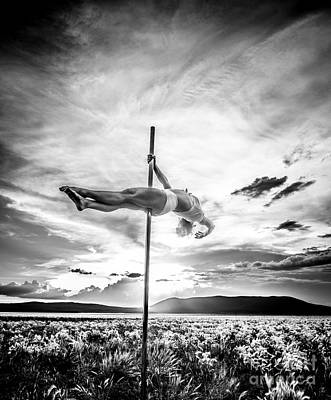 Photograph - Pole Dance Hdr At Sunset by Scott Sawyer