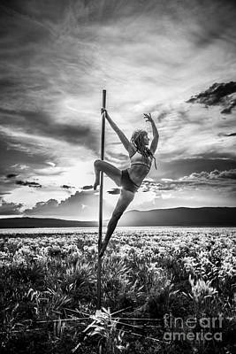 Photograph - Pole Dance Reach Hdr by Scott Sawyer