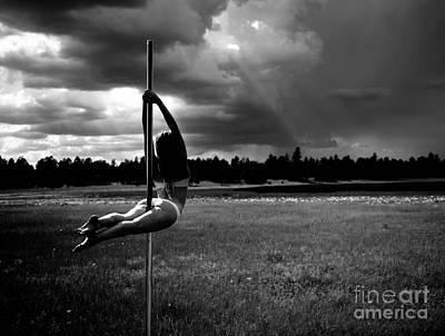 Photograph - Pole Dance Storm 1 by Scott Sawyer