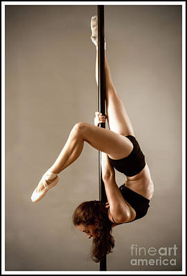 Photograph - Pole Fitness Dancer 2 by Michael Edwards