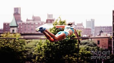 Photograph - Pole Vault Athlete by Nishanth Gopinathan